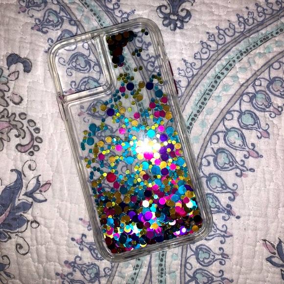 CaseMate iPhone 11/XR Waterfall Glitter Case